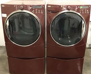 Front Loader Washer & Dryer Set with Pedestals! for Sale in Knoxville, TN