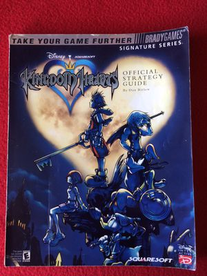 """DISNEY""...""KINGDOM HEARTS "" Official Strategy Guide"" for Sale in Bloomington, CA"