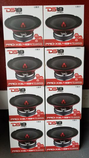 Ds18 Pro audio 600 watts Brand new $30 each /Bocinas ds 18 nuevas $30 cada una for Sale in Houston, TX