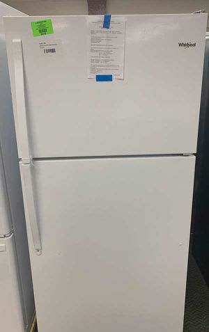 BRAND NEW WHIRLPOOL TOP AND BOTTOM REFRIGERATOR WITH WARRANTY LNQK for Sale in Arcadia, CA
