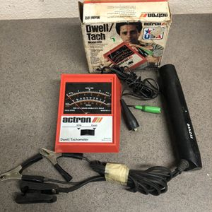 Vintage Actron Automotive Vehicle Car Dwell Tach Tester - Model 612 for Sale in Oakdale, CA