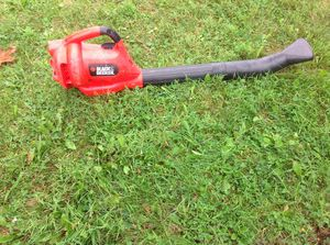 """Electrical """"Black and Decker"""" leaf blower for Sale in Monroeville, PA"""