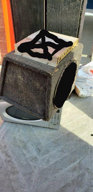 "12"" Car Speaker Case for Sale in Washington, DC"