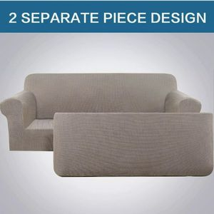 2 Piece Stretch Sofa Covers for 3 Cushion Large Couch Covers Sofa Slipcovers XL for Sale in Garden Grove, CA