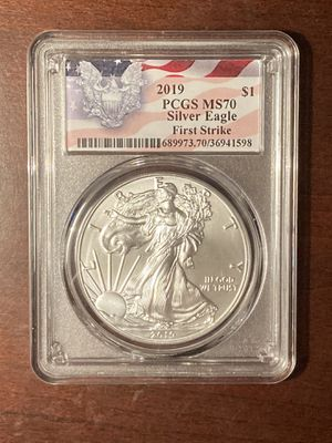 2019 PCGS MS70 Silver Eagle for Sale in Starkville, MS