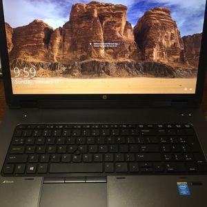 "HP I7 Workstation Zbook Laptop 12GB RAM/256GB SSD 17"" HD Screen for Sale in Orlando, FL"
