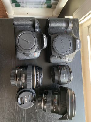 Canon 5d , T6i , And lenses for Sale in Waldorf, MD