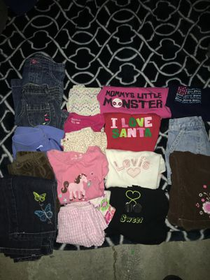 Infant girl clothing 12 months. 16 items. for Sale in South Gate, CA