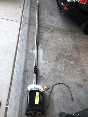 Garage door + remote control for Sale in Las Vegas, NV