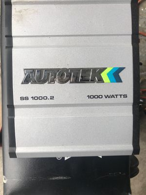 Car Amplifier 1000 watts for Sale in Delaware, OH