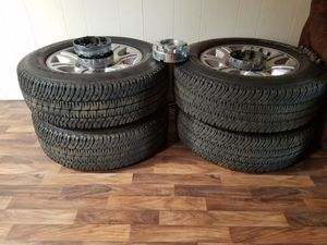 Wheels and tires, set of 4 for Sale in San Diego, CA