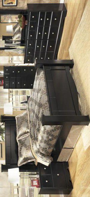 🍃Black Friday Sale‼️ King Shay Black Poster Bedroom Set byAshley for Sale in Columbia, MD