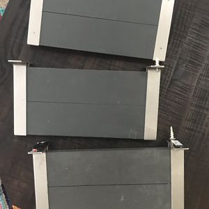 Set Of 3 Gray Shelf Just $7 For All for Sale in Port St. Lucie, FL