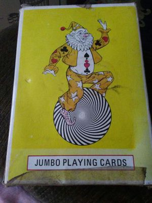 Vintage jumbo deck of playing cards for Sale in Everett, WA