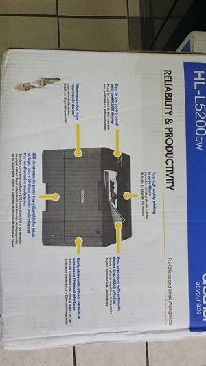 Brother HL-L5200DW Laser Printer for Sale in Riverdale, GA