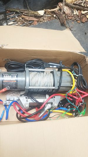5000 lbs winch for Sale in Duvall, WA