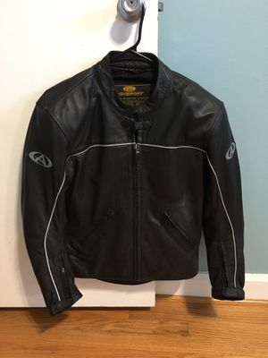Women's leather motorcycle riding jacket for Sale in Alexandria, VA