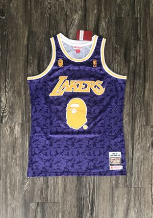 Medium, Large Los Angeles Lakers Bape Bathing Ape Jersey 93 for Sale in Dallas, TX