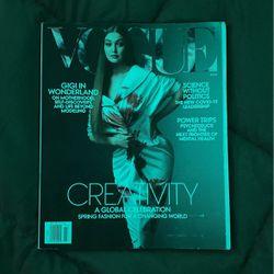 Gigi Hadid Vogue Magazine for Sale in Las Vegas,  NV