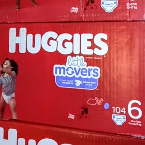 Huggies Little movers size 6 for Sale in Commerce, CA