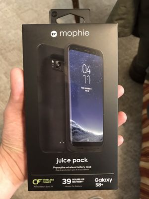 Brand new Mophie Juice Pack Case for Galaxy Samsung S8+ plus for Sale in Salt Lake City, UT