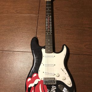 Squier Bullet Rolling Stones Jose Cuervo Electric Guitar for Sale in New Orleans, LA