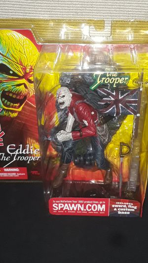 IRON MAIDEN EDDIE THE TROOPER FROM 2002 NEW IN ORIGINAL PACKAGING SALE PRICED for Sale in Providence, RI