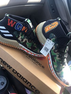 Dame 5 BAPES Adidas Men's size 12 for Sale in Smithfield, NC