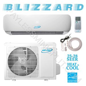 Air-Con 7 year Warranty Tax Rebate Ductless Air Conditioner Mini Split Heat Pump 12,000 24,000 18,000 9,000 btu inverter AC unit system aire acondici for Sale for sale  Miramar, FL