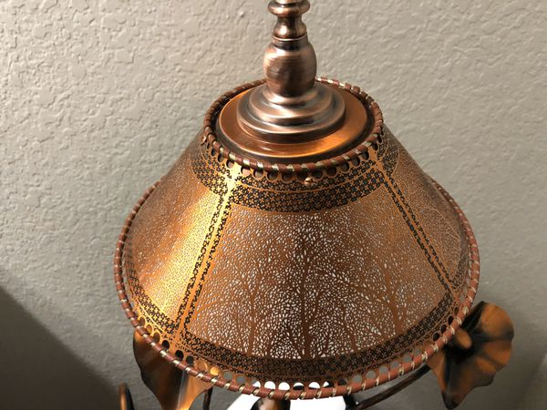 Water fountain and lamp