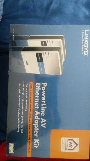 Linksys power line AV ethernet adapter kit for Sale in Littleton, CO