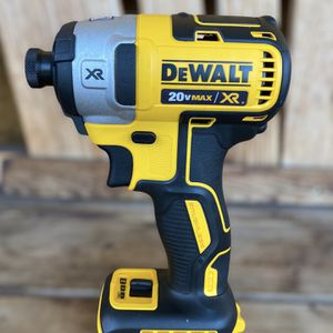 20-Volt MAX XR Lithium-Ion Cordless Brushless 3-Speed 1/4 in. Impact Driver (Tool-Only) for Sale in Glendora, CA
