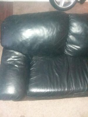 Leather couch for Sale in Salt Lake City, UT
