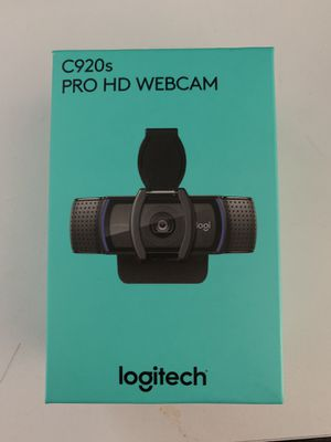 Logitech C920s webcam for Sale in West Lake Hills, TX