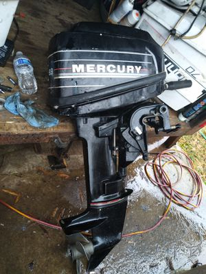 Mercury 9.9hp outboard motor for Sale in Riverdale, MD