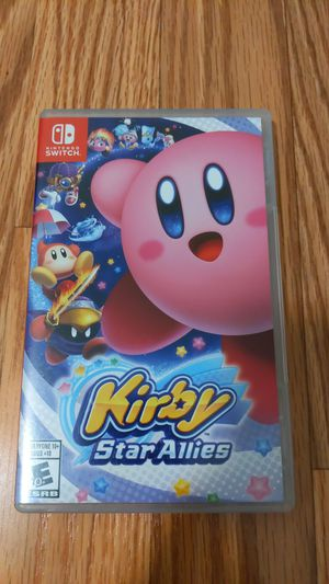 Nintendo Switch: Kirby Star Allies - Case ONLY for Sale in Santa Ana, CA