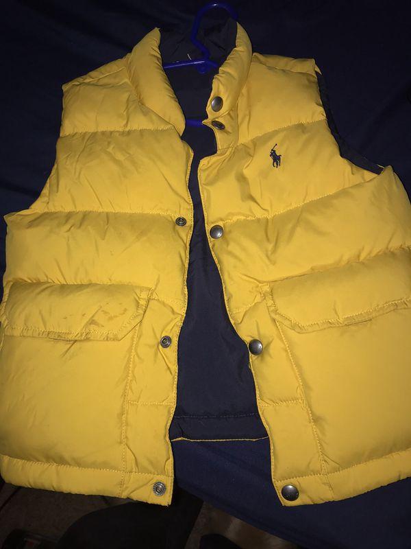 Polo boy reversible vest 7T