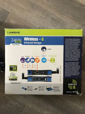 linksys wet54g Ethernet bridge brand new for Sale in Albuquerque, NM
