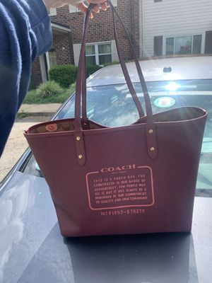 Matching Coach Tote Bag & Wallet for Sale in Newport News, VA