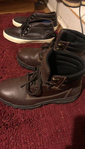 Used steel toe work boots for Sale in Portsmouth, VA