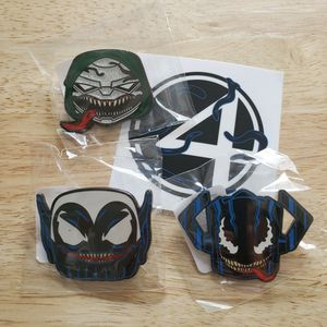Funko Gamestop Venomized Galactus, Skrull, & Doctor Doom (Chase) Collector's Pins (3) for Sale in Bristol, CT