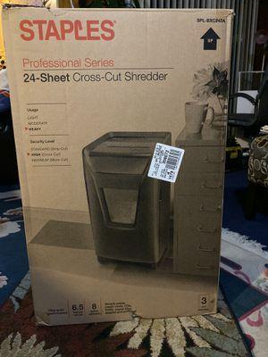 24 sheets shredder for Sale in Sunnyvale, CA