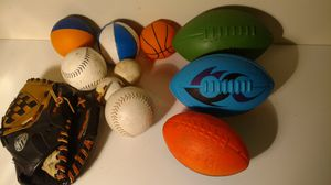 Children's toddler athletic ball package for Sale in Columbus, OH