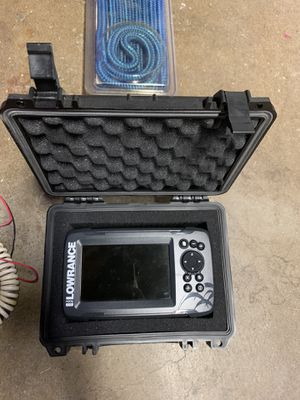 Lowrance Hook 5 with HDI Splitshot Transducer for Sale in Walnut, CA