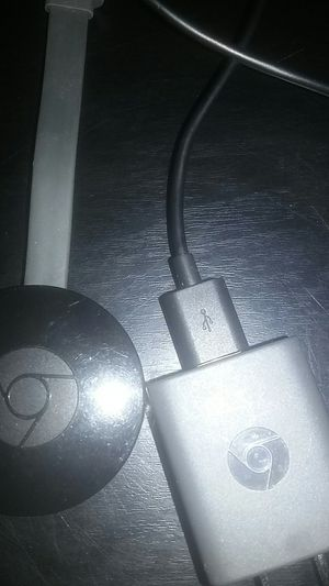 T'v, Chromecast stik, just like a fire stik but better for Sale in STERLING HEIGHTS, MI