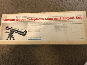 Canon 500mm telephoto lens for Sale in Portland, OR