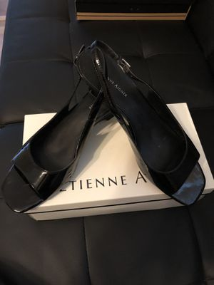 Etienne Aigner Black Dress Sandals in box size 10 for Sale in Fayetteville, NC