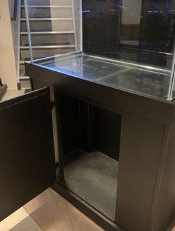 40 Gallon Aqueon Aquarium, Wood Stand $150 for Sale in Livonia,  MI
