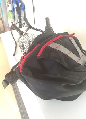 Racquetball Bag, Rackets, Glasses and Balls for Sale in Canby, OR