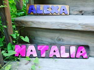 Personalized Handmade Name Puzzel for Sale in Chicago, IL